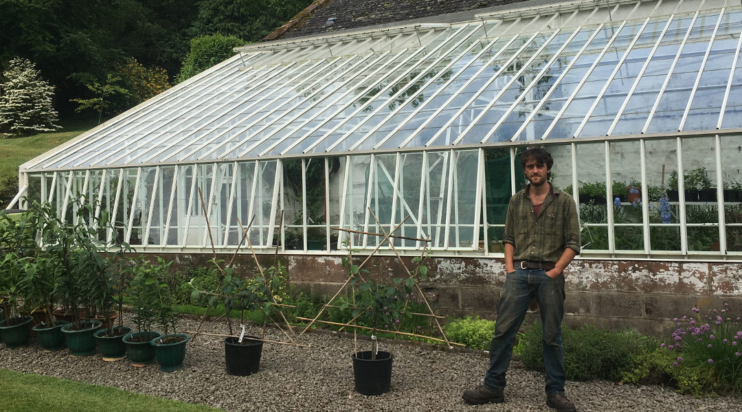 Meet Lachlan Rae, Head Gardner at Auchendolly Estate