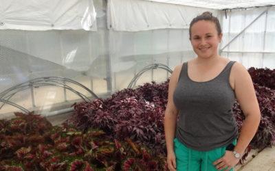 Meet Briony Howe, 25, Team Leader at Walberton & Binsted Nurseries