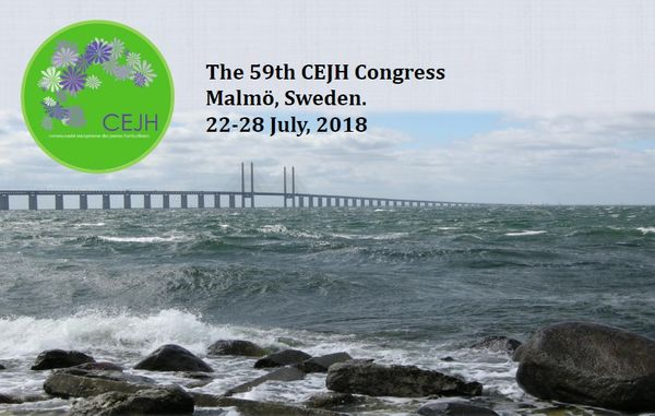 """The 59th CEJH Congress """"Gardening Up North"""" Malmo Sweden"""