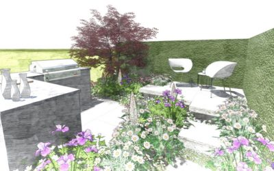 Perennial confirm show Garden at RHS Flower Show Cardiff 2019