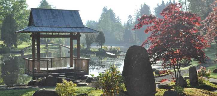 The Japanese Garden at Cowden