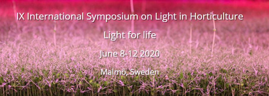 "IX International Symposium of Light in Horitculture ""Light of Life"""
