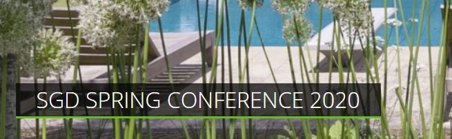 Society of Garden Designers Spring Conference 2020