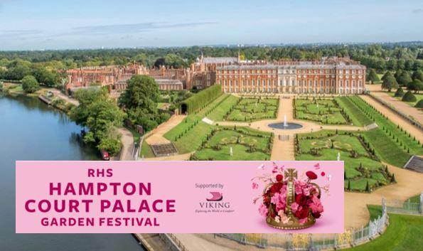 RHS Hampton Court Palace Garden Festival 2020